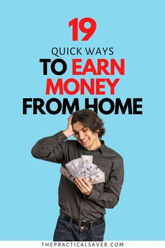 Running low on cash this month? Need money now? No problem! Here are 19 Super Actionable Tips to make Money Fast. This list of ideas will get you extra cash instantly. Learn how to get money hacks when money is tight and you need to earn more right now.   The Practical Saver   #makemoneyfast #moneyhacks I Need Money Now, How To Get Money Fast, Hobbies That Make Money, Earn More Money, Earn Money From Home, Extra Cash, Extra Money, Creating Passive Income, Finance Books