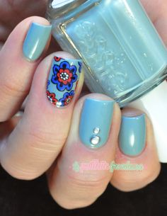 Essie Parka perfect // Stamping decal je te ma�triserai, Part 1 - #nail #nails #nailart http://lapaillettefrondeuse.blogspot.be/2014/03/essie-cashmere-bathrobe-stamping-decal.html