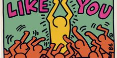 While you might not look at an album cover with the same critical eye as you would a multi-million dollar masterpiece encased behind museum glass, Keith Haring did just that. The post-pop innovator embraced all things DIY, popular and democratic in his art and in his life, leaving his mark on party invites, tee shirts and pins more often than the pristine white%2...