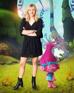 Louane Emera dans le rôle de la Princesse Poppy