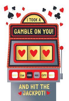 Love slot machine - Love Card #greetingcards #printable #diy #valentinesday #valentines Valentine Day Love, Valentine Day Cards, Valentines Day Card Templates, Happy Anniversary Cards, Romance And Love, Thoughts And Feelings, Love Cards, Printable Cards, Slot Machine