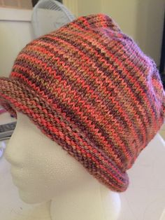 A Simple Slouchy is a quick and easy to knit hat pattern and is beginner friendly.