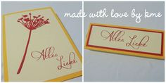made with love by  kme: Alles Liebe