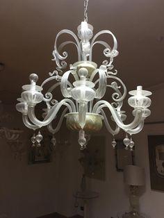 #lampadario di #murano della #vetreria #formiaglass.net tanti modelli e ricambi Blown Glass Chandelier, Murano Chandelier, Chandeliers, Surprise Gifts, Murano Glass, Ceiling Lights, Wall, Home Decor, Transitional Chandeliers