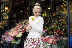Sunflower Girl by @Camilla Glamgerous #blogger #fashionblogger #glamgerous #look #ootd #summer #flower