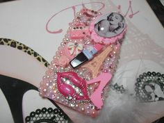 Sexy Marilyn Bling Phone Case Iphone 4G/5/3gs  Made by iloveblings, $55.00