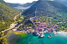 Walls of Ston, A Grande Muralha da China Europeia, Dubrovnik Dubrovnik, Croatia Images, Costa, Visit Croatia, The Donkey, Beautiful Places To Visit, Albania, Beautiful Islands, Macedonia