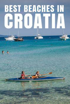 What to do in Croatia: Best Beaches. Saharun Beach, Dugi Otok.