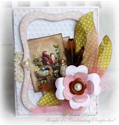 Uses image by Crafty Secrets, Cricut Cuts from the Heritage, Elegant Edges, and Flower Shoppe cartridges.
