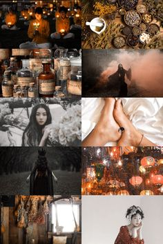 traditional chinese medicine witch aesthetic (more here)