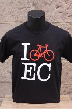 The Local Store - I Bike EC Tee (Black)