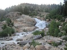 Alluvial Fan in Rocky Mountain National Park.  My favorite place in the whole park. History of it is intriguing.