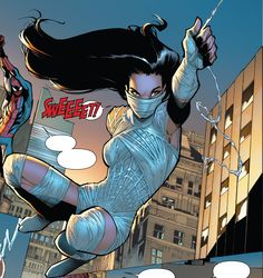 """Marvel Comics have applied to register a trademark for the word """"Silk"""" for """"Comic books; printed periodicals in the field of comic book stories and Marvel Comic Books, Comic Book Characters, Marvel Dc Comics, Marvel Characters, Marvel Heroes, Anime Comics, Comic Character, Marvel Women, Marvel Girls"""