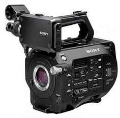 We are the first rental company with Sony's newest video camera, the FS7.