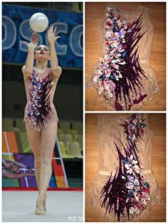Rhythmic gymnastics leotard (photo by Shanek_com)