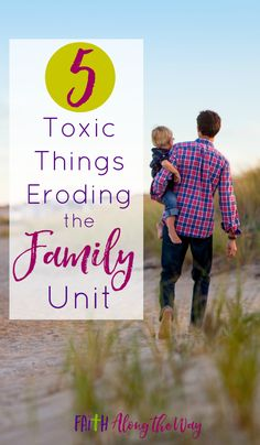 The modern day family is slowly being eroded by these five things.  Which of these does your family struggle with?