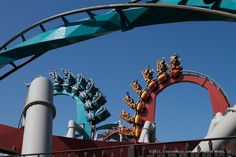 Dueling Dragons- Universal Islands of Adventure