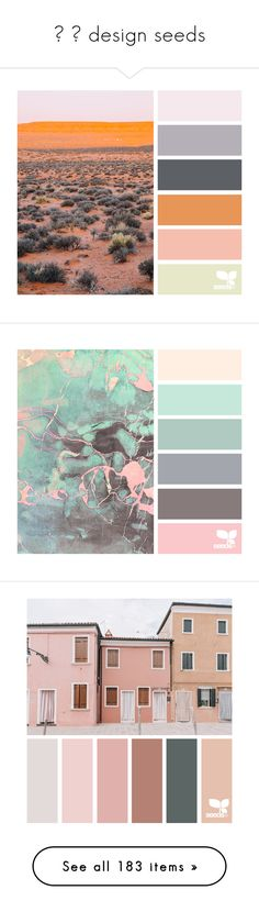 """""""✧ ⇢ design seeds"""" by unsteady ❤ liked on Polyvore featuring backgrounds, design seeds, pictures, colors, colour pallets, color inspiration, palette, filler, design seed and color"""