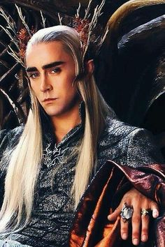 """For all my lee pace and thranduil loving followers! """"I am patient I can wait."""""""