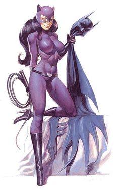 Batman och Catwoman tecknad sex