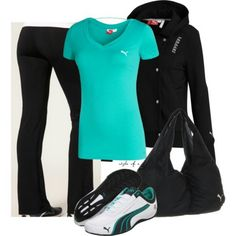 Cute working out outfit