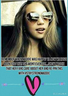 Like this so fake why would somebody do that this is not really maddie is ok and she 12-13 so I do this she would do that