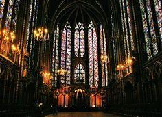 ste chapelle katedrali vektör