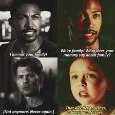 "#TheOriginals 3x20|4x07 - ""Family"" - #MarcelGerard #KlausMikaelson #HopeMikaelson"