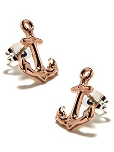 Rose Anchor Studs  $68