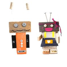 Kinderfeestje Robot (8x)