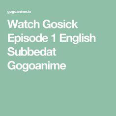 Watch Gosick Episode 1 English Subbedat Gogoanime