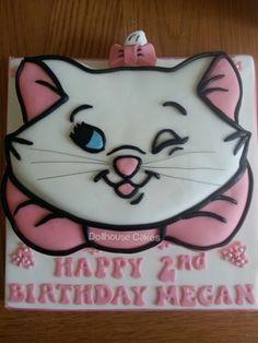 Aristocats Marie Cake.