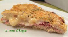 Teglia di pollo al forno un secondo piatto unico e delizioso, una sorta di pizza al pollo, golosa che piace ai grandi e ai più piccini