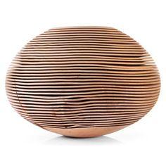 Rillen Vessels (wood) par Christoph Finkel - Journal du Design