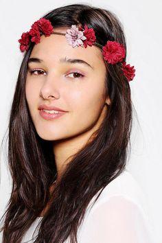 Chrysanthemum Flower Crown Headwrap #urbanoutfitters