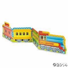 Train Party Centerpiece
