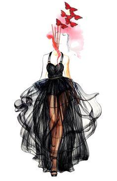 (1) fashion sketch | Tumblr
