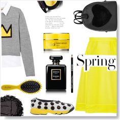 How To Wear Spring in yellow. Outfit Idea 2017 - Fashion Trends Ready To Wear For Plus Size, Curvy Women Over 20, 30, 40, 50