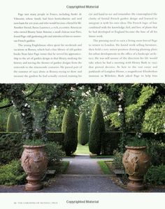 The gardens of Russell Page...thanks for the info with the picture..