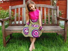 Girls Fashion - NATIVE BELLE BOUTIQUE SPRING/SUMMER 2013 AFRICAN PRINT FABRIC CHILDREN'S CLOTHING