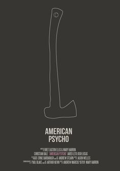 'Lines' - American Psycho by IamPhilipJoyce (Thirsty For Milk)