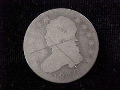 1820 Large Cent Capped Bust Quarter 25c Original Priced 2 Sell | eBay
