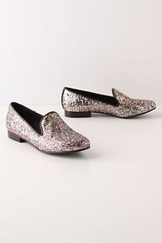 I think loafers are a great shoe to wear in the winter! These sparkly ones are perfect!..aeb