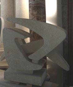 Sculpture in stone  - http://www.achillegrassi.com/en/project/scultura-in-pietra-bianca-di-vicenza-3/ - Sculpture in white stone from Vicenza Dimensions:  70cm x 60cm x 30cm