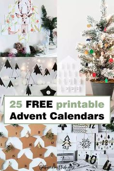 The best free printable advent calendar to countdown to days until Christmas. Jazz up you holiday decor with one of these free prints. #free #download #calendar Interior Design Ikea, Interior Designing, Christmas Calendar, Advent Calendar, Liturgical Seasons, Diy Home Accessories, Diy Home Repair, Days Until Christmas, Diy Porch