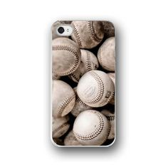 Baseballs, iPhone 5 4 4s Case, Cell Phone Case, Baseball, Vintage Sports, Accessory for iPhone 5 4 4s on Etsy, $32.00