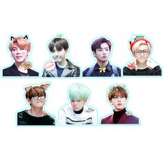 BTS / Bangtan Boys Character Stickers