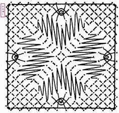Comme pour le carré n° 14 le 15 se compose de grilles et d'araignées sur fond torchon, mais le rendu est différent.    Si v... Bobbin Lace Patterns, Lacemaking, Needle Lace, Quilts, Inspiration, Album, Bobbin Lace, Molde, Chess Boards