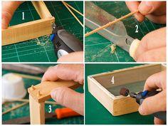 Truco de carpintería para reforzar marcos pequeños