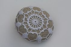 covered sea stone 301 by knitalatte on Etsy, $50.00